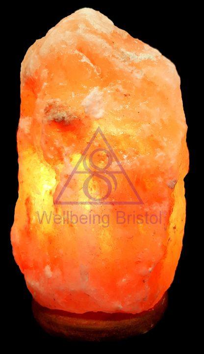 Himalayan Salt Lamp Natural light